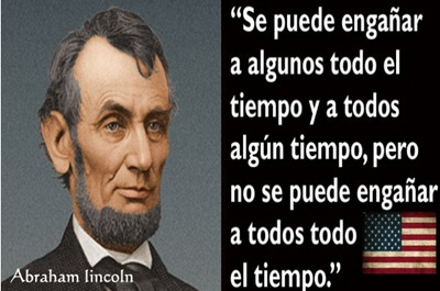 Abraham lincoln frases pensamientos